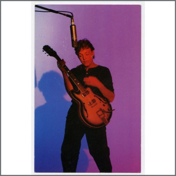 B25451 – Paul McCartney 1999 Run Devil Run Listening Party Invitation (UK)