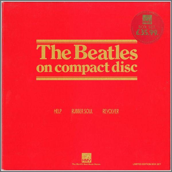 B25490 - The Beatles 1987 Help!/Rubber Soul/Revolver HMV Box Set (UK)