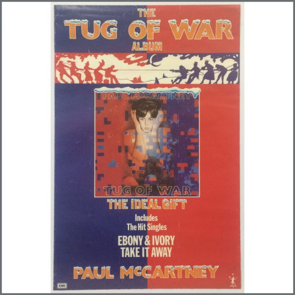 B25518 - Paul McCartney 1982 Tug Of War Promotional Poster (UK)