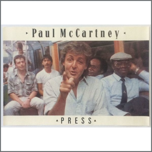 B25519 - Paul McCartney 1986 Press Promotional Poster (UK)