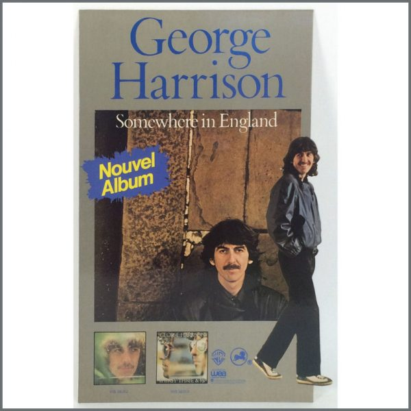 B25546 - George Harrison 1981 Somewhere In England Promotional Display (France)