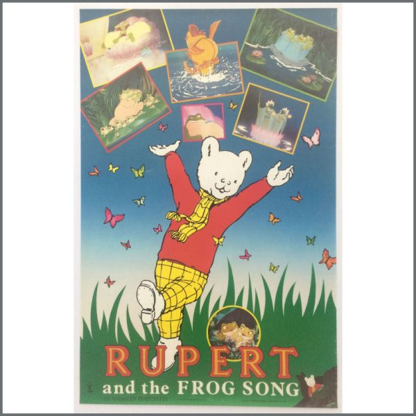 B25554 - Paul McCartney 1984 Rupert And The Frog Song Promotional Poster (UK)