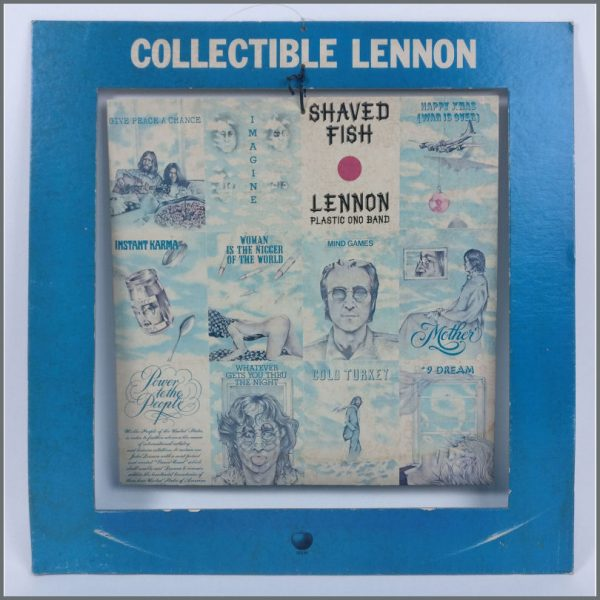 B25567 – John Lennon 1975 Shaved Fish Apple Hanging Shop Display (USA) 2