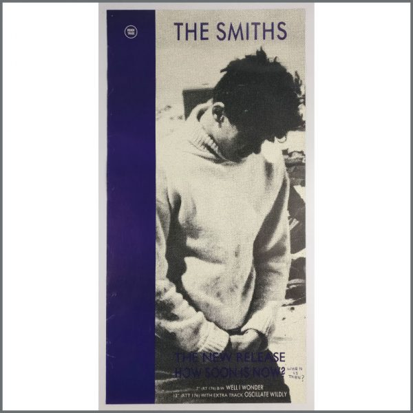 B25698 - The Smiths 1985 How Soon Is Now? Promotional Poster (UK)