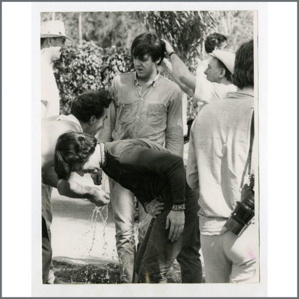 B25707 - John Lennon & Paul McCartney 1965 Help! Bahamas Vintage Photograph (USA)