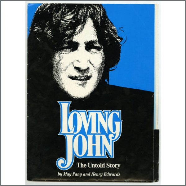 B25764 – John Lennon 1983 Loving John The Untold Story Promotional Press Kit (UK) 1