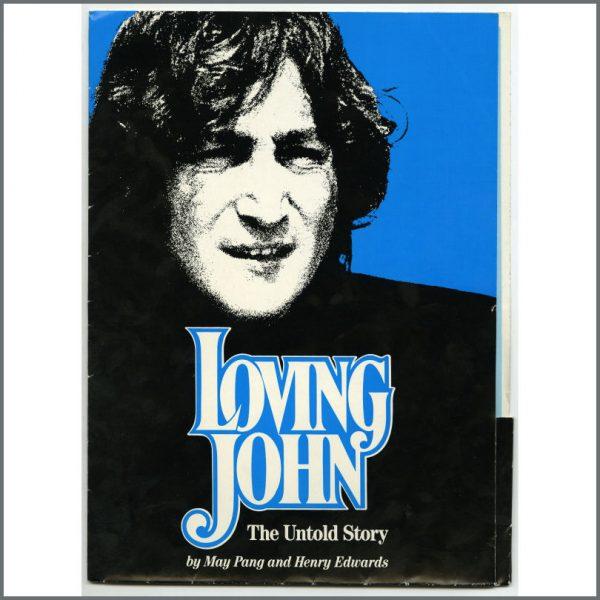 B25764 - John Lennon 1983 Loving John The Untold Story Promotional Press Kit (UK)