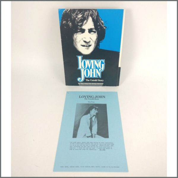 B25764 – John Lennon 1983 Loving John The Untold Story Promotional Press Kit (UK) 2