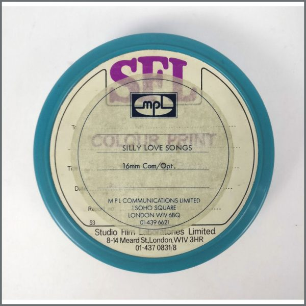 B25792 - Paul McCartney 1984 Silly Love Songs Promotional Video Reel (UK)