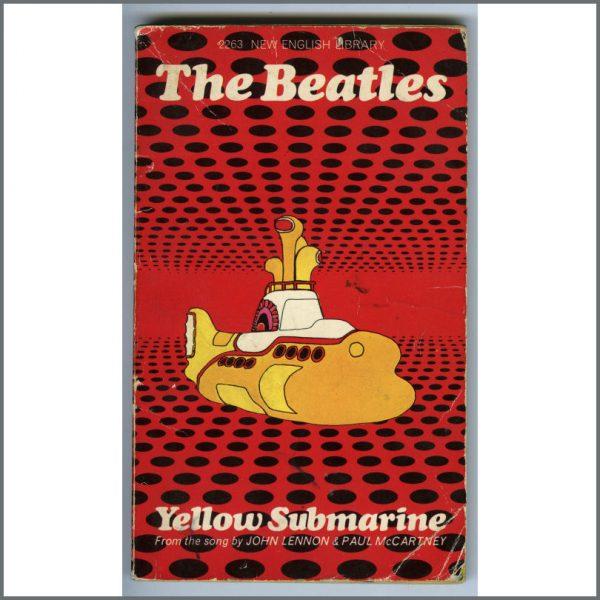 B25794 - The Beatles 1968 Yellow Submarine Paperback Book (UK)