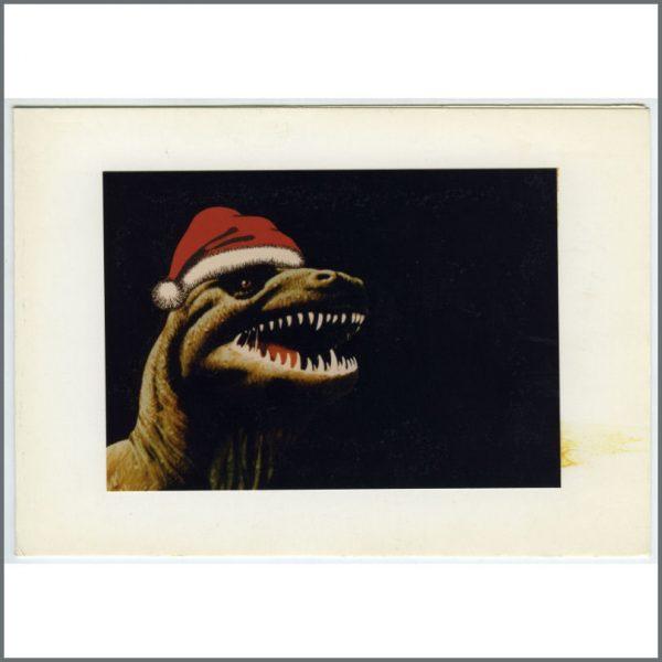 B25800 - Ringo Starr 1970s Startling Studios Christmas Card (UK)