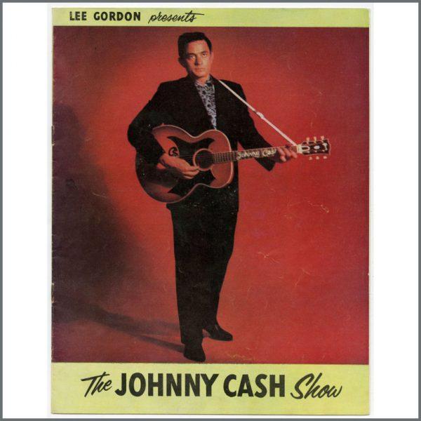 B25844 - The Johnny Cash Show 1959 Tour Programme (Australian)