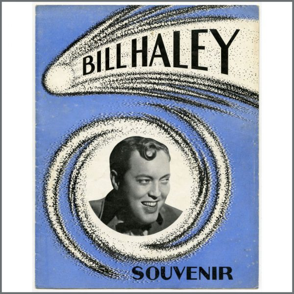 B25845 - Bill Haley And His Comets 1957 Concert Programme (UK)