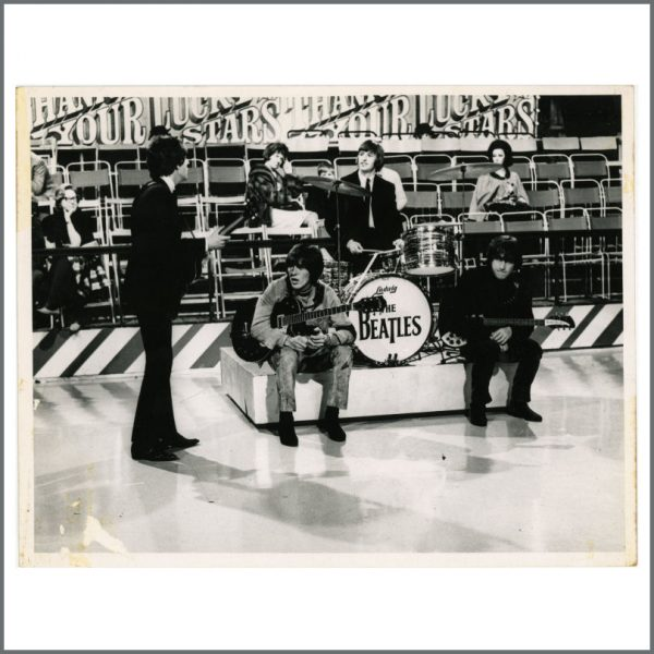 B25848 - The Beatles 1965 Thank Your Lucky Stars Graham Spencer Vintage Photograph (UK)