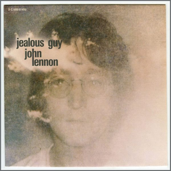 B25853 – John Lennon 1981 Jealous Guy Pathé Marconi White Label Test Pressing (France) 2