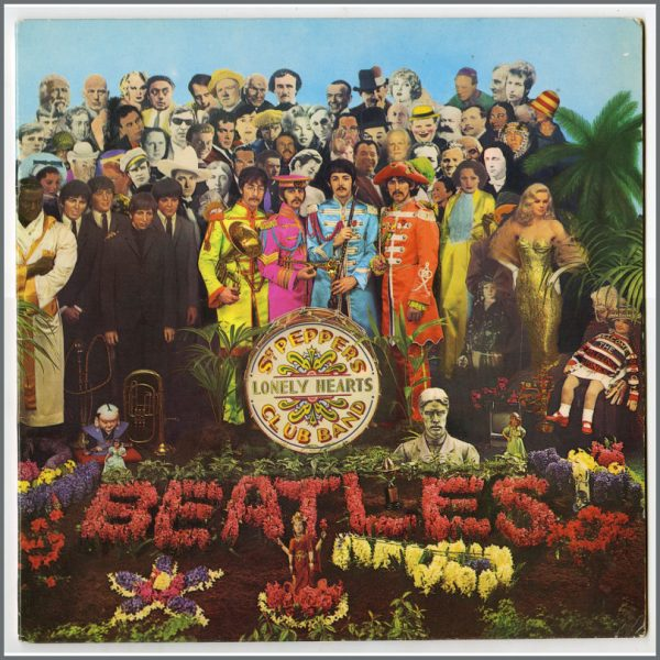 B25861 - The Beatles 1967 Sgt Pepper's Lonely Hearts Club Band LP 5C 062-04177 (Holland)