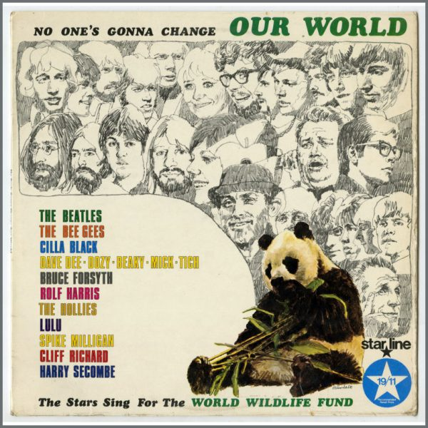 B25864 - The Beatles 1969 No One's Gonna Change Our World LP SRS 5013 (UK)