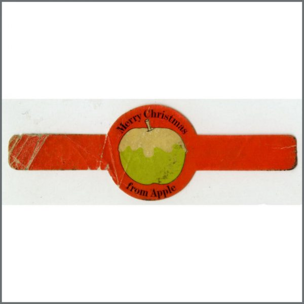 B25882 - The Beatles Apple Records 1960s Cigar Band (UK)