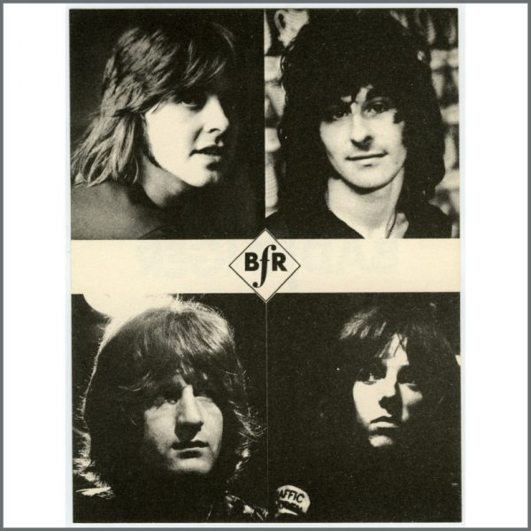 B25887 – Badfinger 1970 Fan Club Apple Records Promotional Card (UK) 1