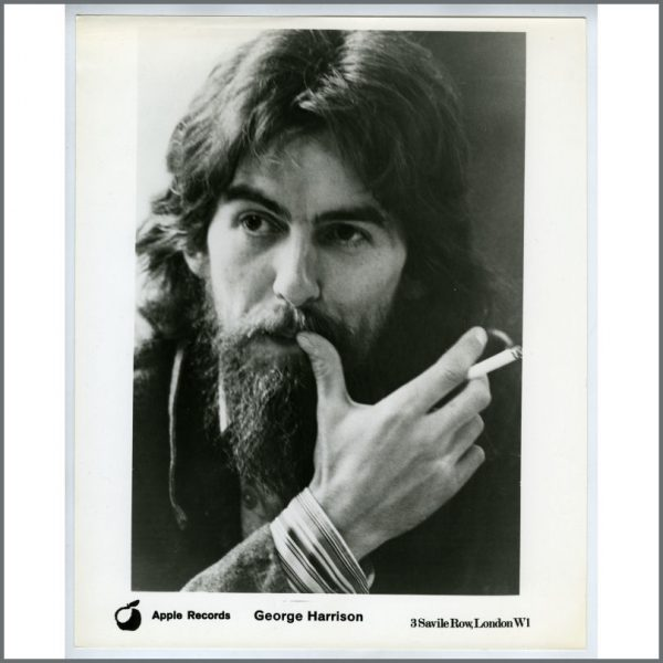 B25892 - George Harrison Apple Records Promotional Photograph (USA)