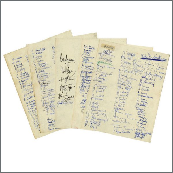 B25923 – Bob Wooler 1964 Mindbenders Fans Cavern Club Petition Signed By The Rolling Stones (UK) 2