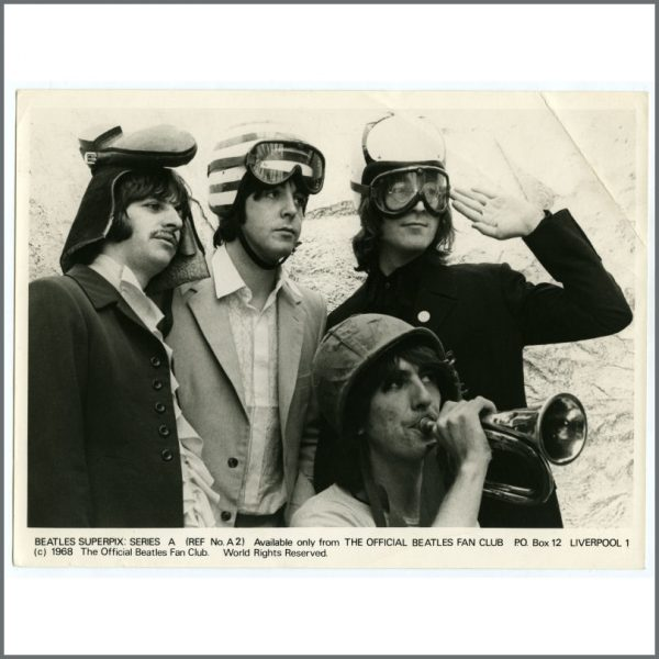 B25933 – The Beatles 1968 Superpix Series A Photograph Set (UK) 1