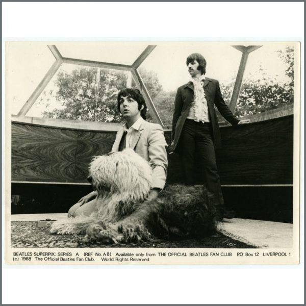 B25933 – The Beatles 1968 Superpix Series A Photograph Set (UK) 2