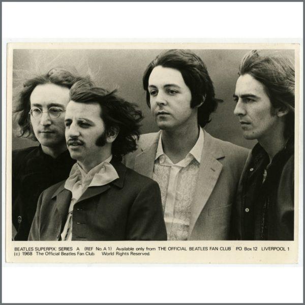 B25933 – The Beatles 1968 Superpix Series A Photograph Set (UK) 5