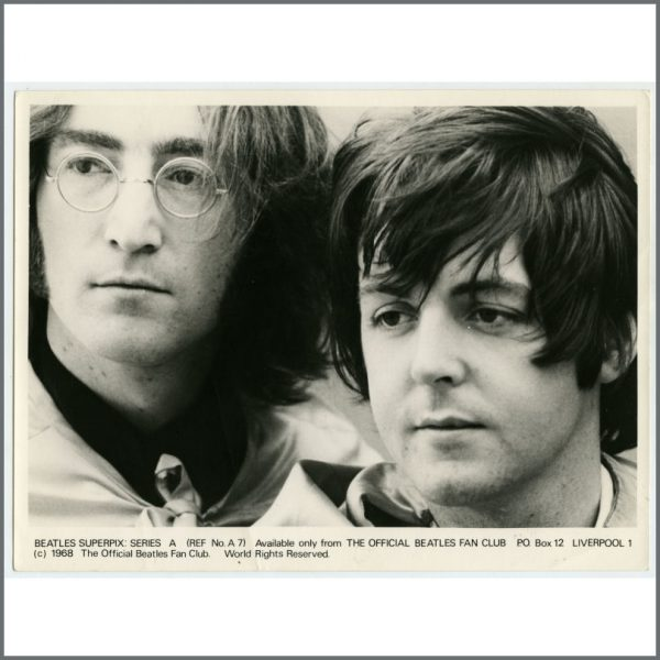 B25933 – The Beatles 1968 Superpix Series A Photograph Set (UK) 6