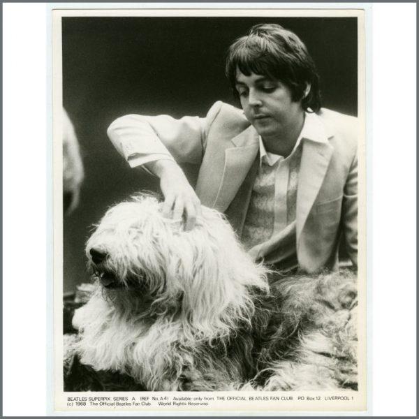 B25933 – The Beatles 1968 Superpix Series A Photograph Set (UK) 7