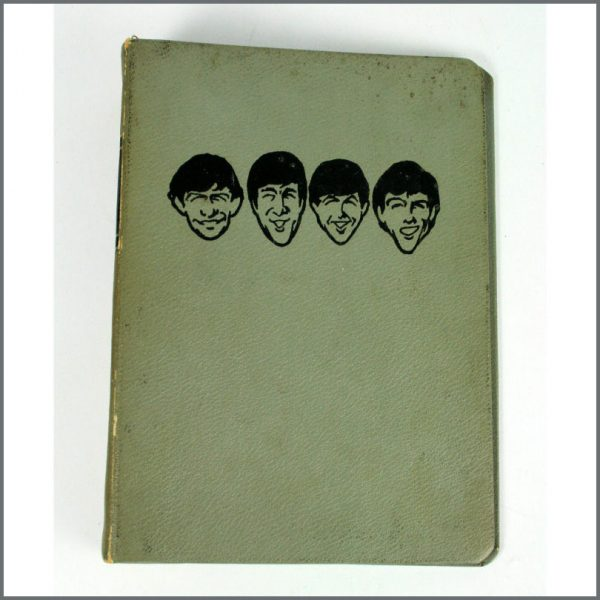 B25936 - The Beatles Monthly Book 1964 Binder (UK)