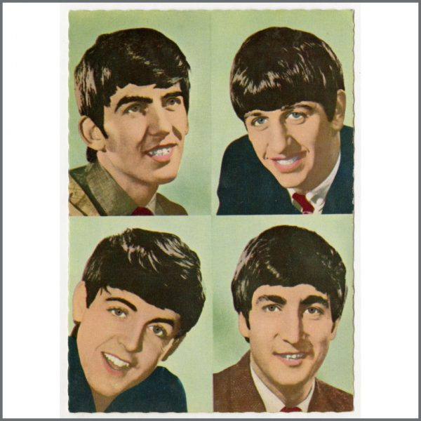 B25937 - The Beatles 1963 Set Of Dezo Hoffmann Picture Postcards (Germany)