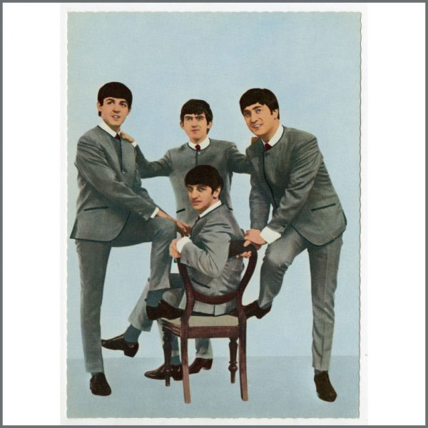 B25939 - The Beatles 1963 Set Of Dezo Hoffmann Picture Postcards (Germany)