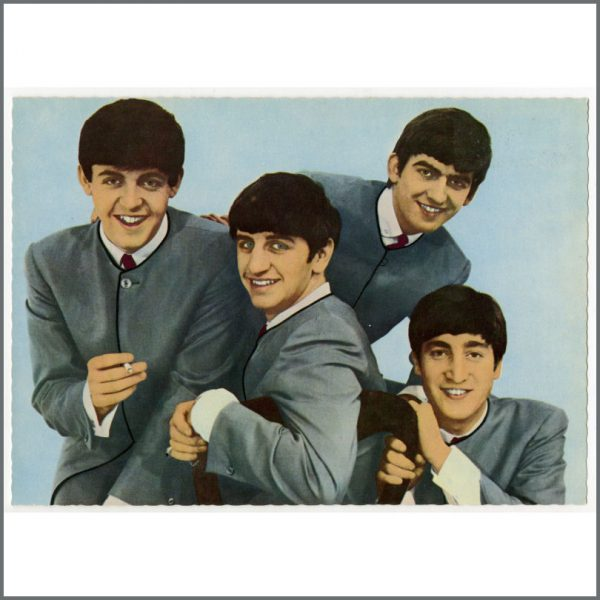B25940 - The Beatles 1963 Set Of Dezo Hoffmann Picture Postcards (Germany)