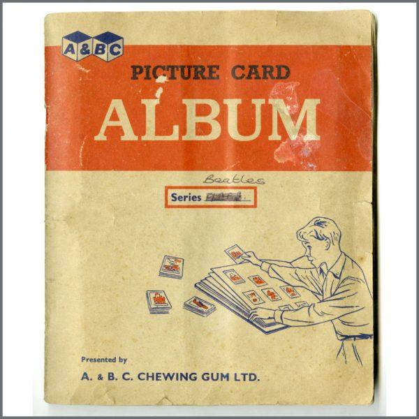 B25944 - Beatles A+BC Bubblegum Cards Complete Set (UK)