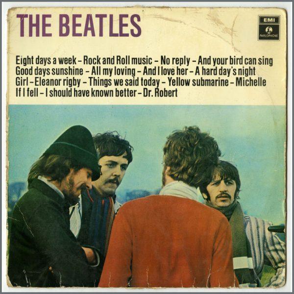 B25951 - The Beatles 1968 Boek En Plaat The Beatles DS 018 LP (Holland)