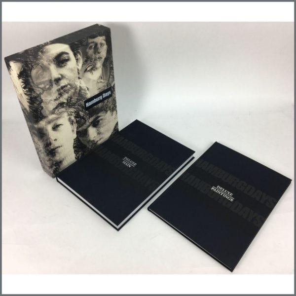 B25952 - George Harrison Autographed Genesis Publications Hamburg Days Deluxe Book (UK)