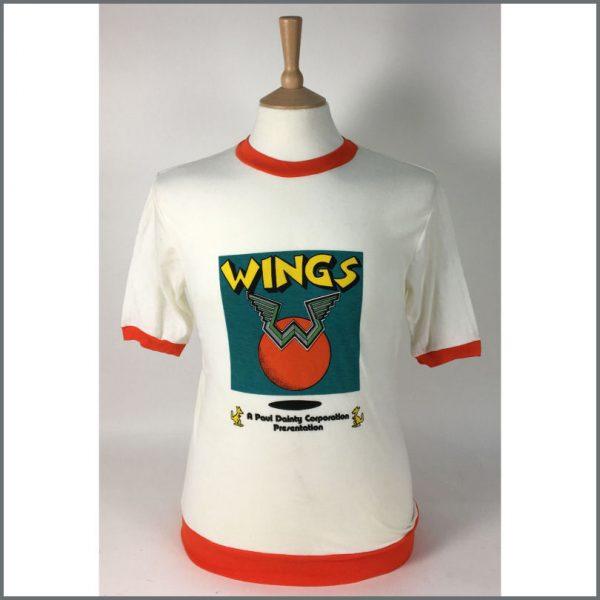 B26008 - Paul McCartney And Wings 1975 Tour T-shirt (Australia)