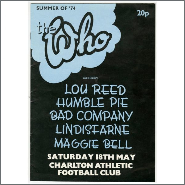 B26018 – The Who 1974 Collection Of 60s & 70s Memorabilia (UK) 4