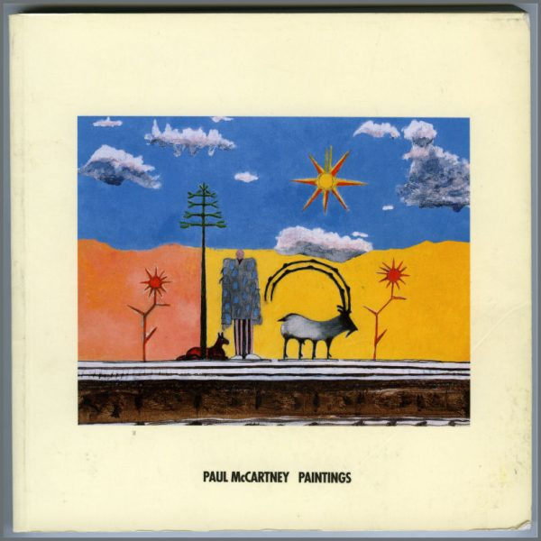 B26021 - Paul McCartney 1994 Paintings Book (UK)