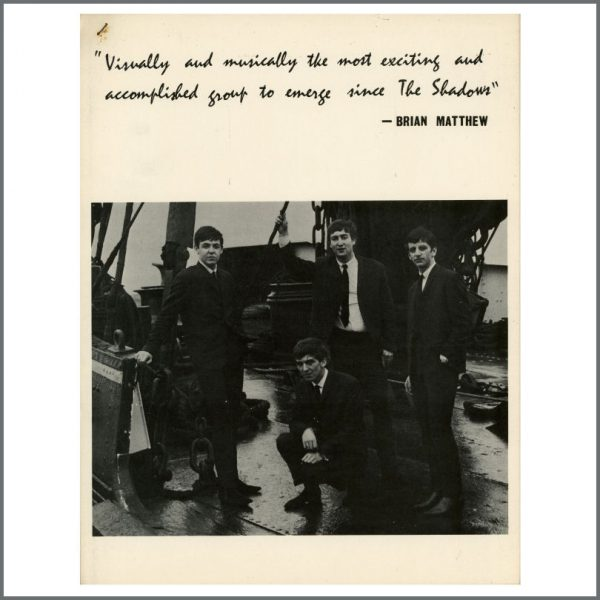 B26039 - The Beatles 1963 From Me To You Press Kit (UK)