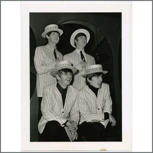 B26066 - The Beatles 1963 Morecambe & Wise Show Photograph (UK)