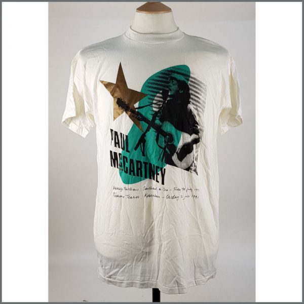 B26082 - Paul McCartney 1991 McCartney Unplugged Merchandising T-Shirt (UK)