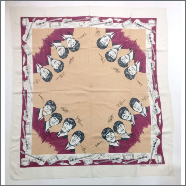 B26083 - The Beatles 60s Ulster Cotton Tablecloth (Ireland)