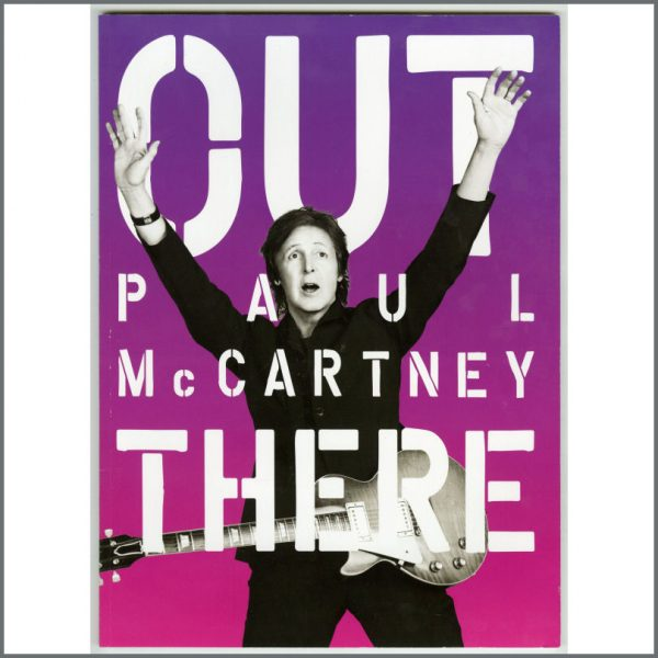 B26098 - Paul McCartney 2013 Out There Tour Programme