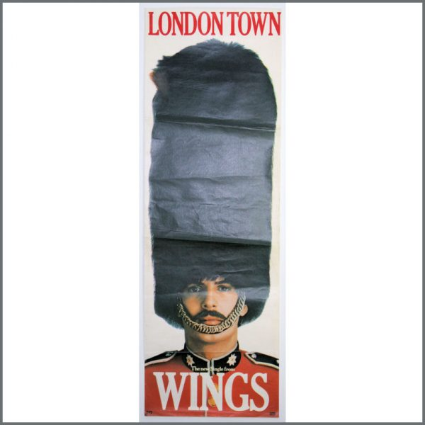 B26101 - Paul McCartney & Wings 1978 London Town Promotional Poster (UK)