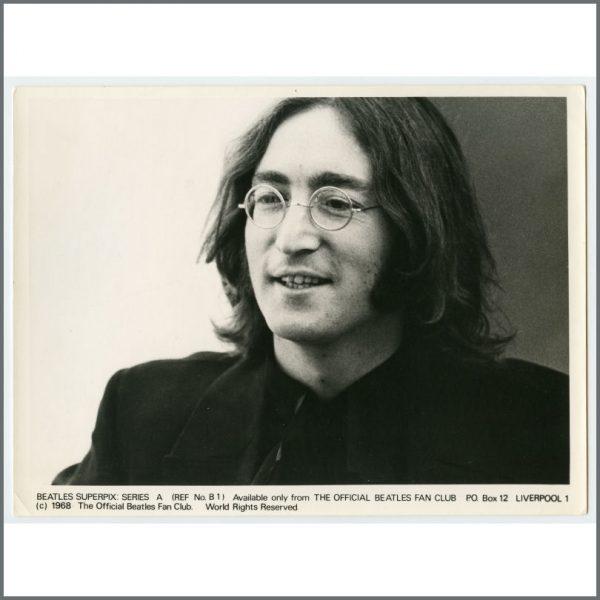 B26114 – The Beatles 1968 Fan Club Superpix Photographs Series A (UK) 1