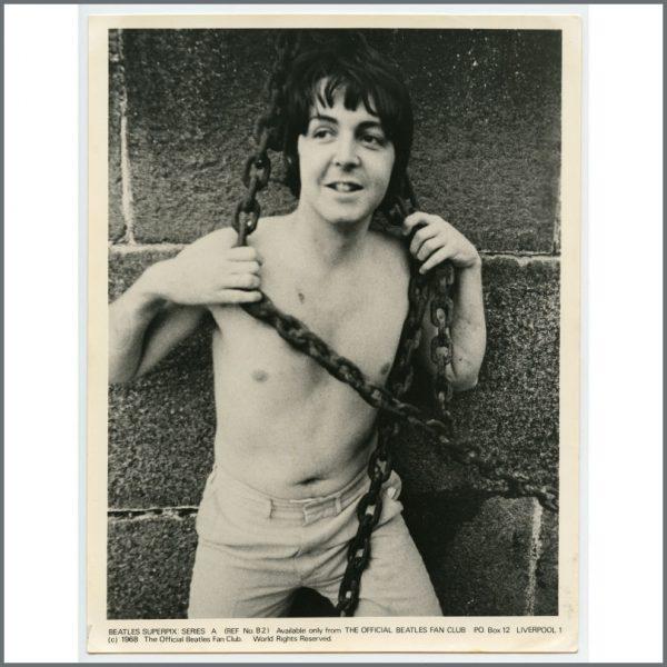B26114 – The Beatles 1968 Fan Club Superpix Photographs Series A (UK) 2