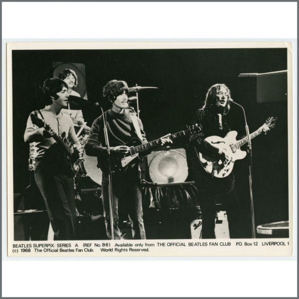 B26114 – The Beatles 1968 Fan Club Superpix Photographs Series A (UK) 6
