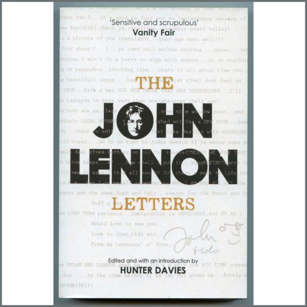 B26117 - Hunter Davies 2016 Signed The John Lennon Letters Book (UK)